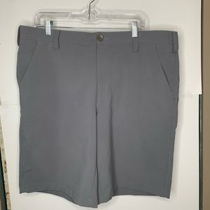 Under Armour Mens Gray Golf Shorts Size 38 Casual
